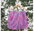 ONIA summer 2012 liberty print swim trunks rock and roll purple