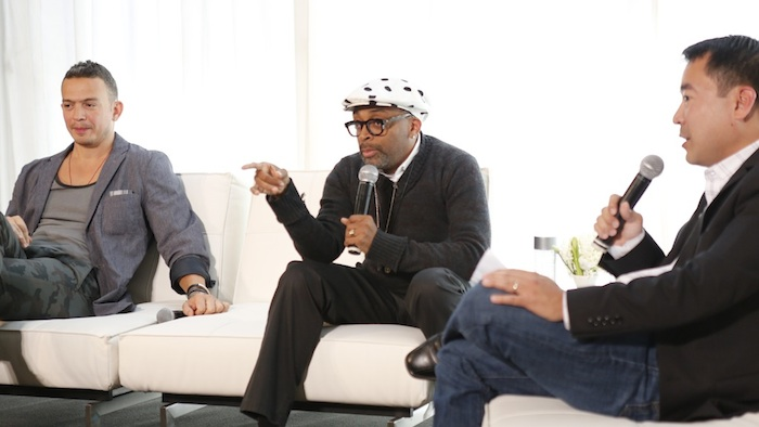 SPIKE LEE talks at LEBOOK New York June 2012 on FashionDailyMag