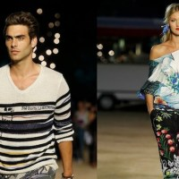 DESIGUAL patterned for SPRING 2013 runway Barcelona