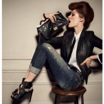 DIESEL MEISEL behind the scenes fall 2012 campaign FashionDailyMag coco