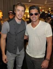John Varvatos Event 2012 Josh Henderson and Patrick Dempsey FashionDailyMag Selects 3