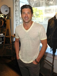John Varvatos Event 2012 Patrick Dempsey FashionDailyMag Selects
