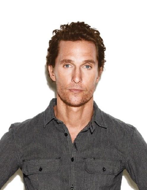 Matthew McConaughey NYLON GUYS portrait on FashionDailyMag