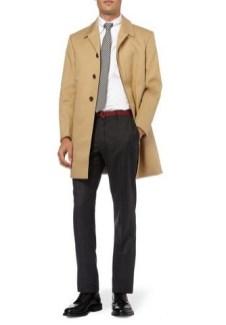 THOM BROWNE cotton twill raincoat MrPorter on FashionDailyMag