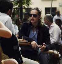 pierre sarkozy in lanvin jacket and oliver spencer shirt at MrPorter on FashionDailyMag