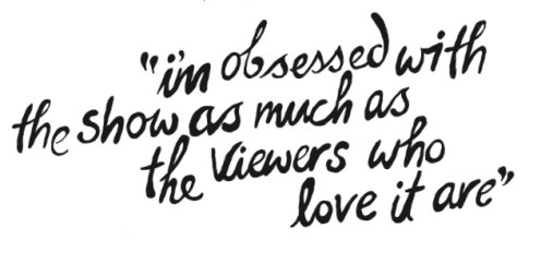 LEA MICHELLE quote about GLEE on nylon sept issue