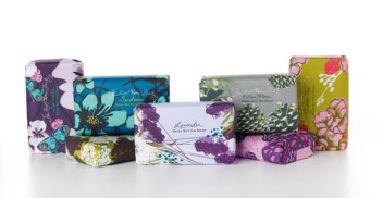 SOAP and PAPER FACTORY shea butter soaps
