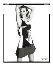 FNO 2012 Karlie Kloss Supports Fashion's Night Out