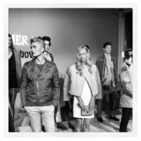 catching up:  J.Lindeberg | Peter Lindbergh launch NYFW
