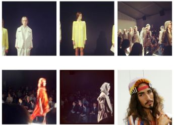 NICHOLAS K. willy cartier and KAELEN at NYFW SS13 ON FASHIONDAILYMAG