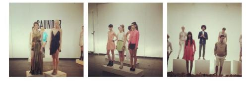 SAUNDER at NYFW SS13 on fashiondailymag