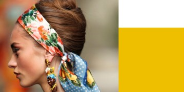 DOLCE GABANNA beauty hair and scarf spring 2013 FashionDailyMag feature