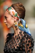DOLCE GABBANA spring 2013 beauty redken FashionDailyMag sel 1