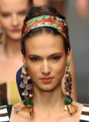 DOLCE GABBANA spring 2013 beauty redken FashionDailyMag sel 6