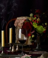 Poe Party After with Candles simon doonan party tips FashionDailyMag