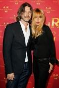 Rachel Zoe with husband | ADR at HM paris on FashionDailyMag