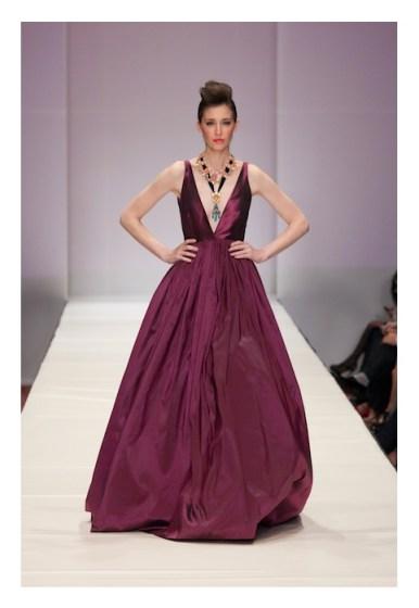 Jerri Moore SS 2013 Fashion Houston 2012 fashiondailymag look 1