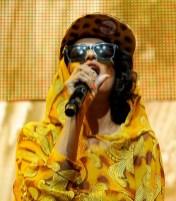 Singer M.I.A. performs | Smart forjeremy Showcar By Jeremy Scott