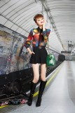 Alice + Olivia Prefall 2013 fashiondailymag selects Look 2
