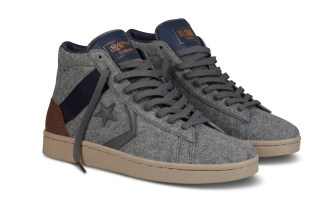 ConverseXSaintAlfred grey sneakers
