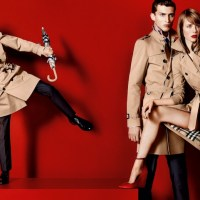 BURBERRY new cast features Romeo Beckham for spring 2013