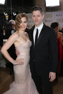 Amy Adams, Darren Le Gallo Moet & Chandon at the 70th Annual Golden Globe Awards Red Carpet