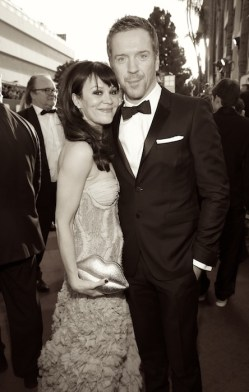 """damian lewis and wife Helen McCrory NBC's """"70th Annual Golden Globe Awards"""" - Red Carpet Arrivals"""
