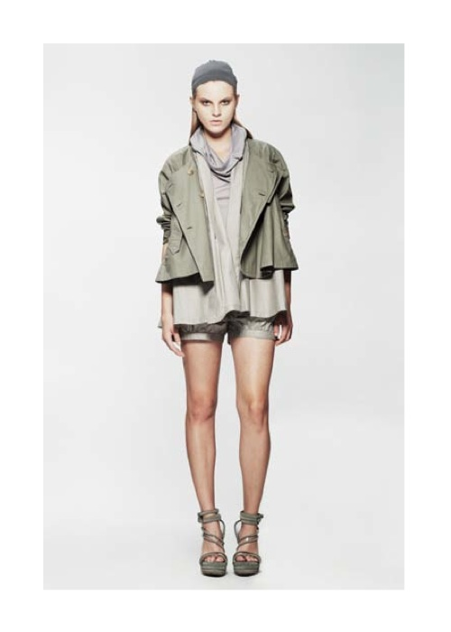 Nicholas K Spring Summer 2013 Rett Jacket fashiondailymag lookbook selects
