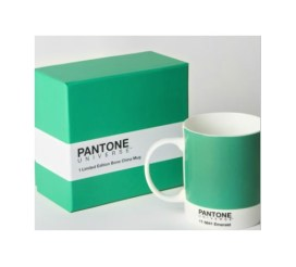 PANTONE UNIVERSE limited edition bone china mug emerald green