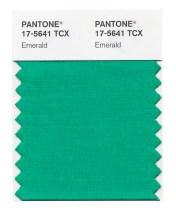 PANTONE emerald miniswatch | green for 2013