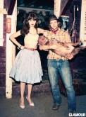 Zooey Deschanel 4 by Ellen von Unwerth for glamour feb on fashiondailymag