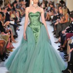 erin oconnor zac posen green FashionDailyMag green for the year