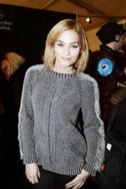 Leigh Lezark NICOLE MILLER Fall/Winter Fashion Show