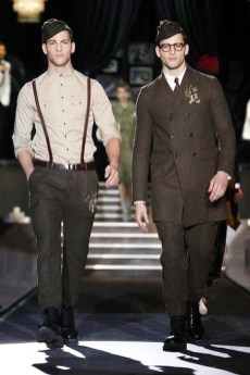 boys at Dsquared2 aw13 FashionDailyMag