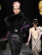 daphne groenveld Dsquared2 Fall 2013 FashionDailyMag sel 1