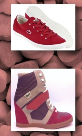 lacoste SHOES for VDAY mood