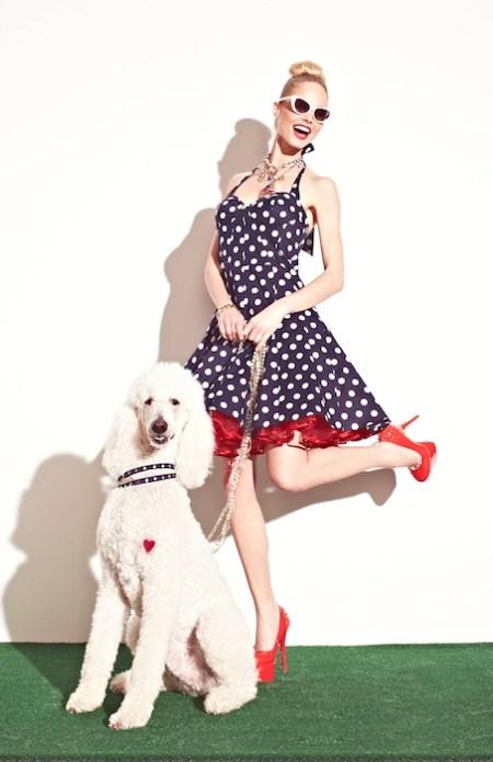 BETSEY JOHNSON SPRING 2013 DRESSES dots FASHIONDAILYMAG