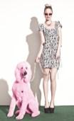 BETSEY JOHNSON SPRING 2013 DRESSES pink dog FASHIONDAILYMAG