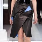 MAISON VIONNET AW13 FashionDailyMag sel skirt detail