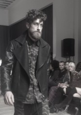 SCOTTXSCOTT leather fw13 LA fashion | FashionDailyMag
