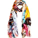 Sheila Johnson Spring 2013 Sandal Market scarf fashiondailymag 9