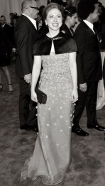 """CHELSEA CLINTON """"PUNK: Chaos To Couture"""" Costume Institute Gala"""