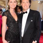 LAUREN BUSH with DAVID LAUREN at MET GALA clarins on FashionDailyMag