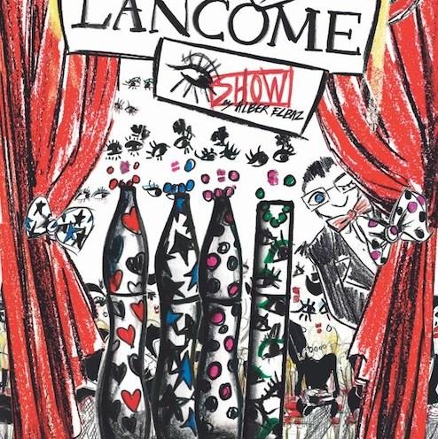 ALBER ELBAZ LANCOME beauty launch june 2013