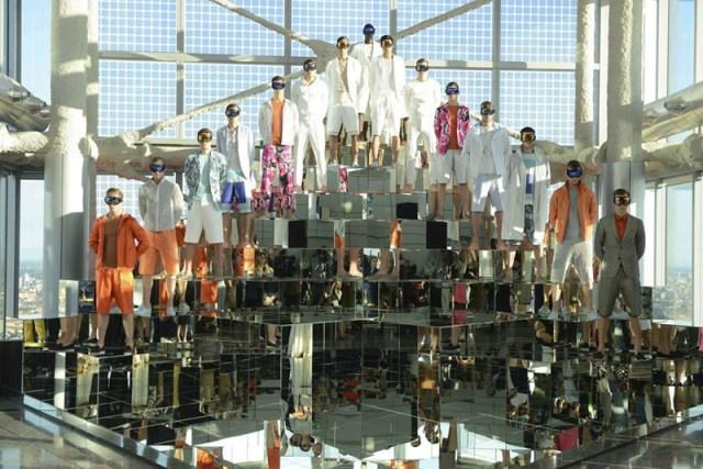 DIRK BIKKEMBERGS menswear spring 2014 fashiondailymag sel 16