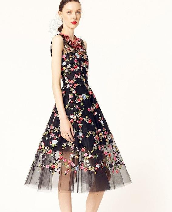 OSCAR DE LA RENT RESORT 2014 details | FashionDailyMag