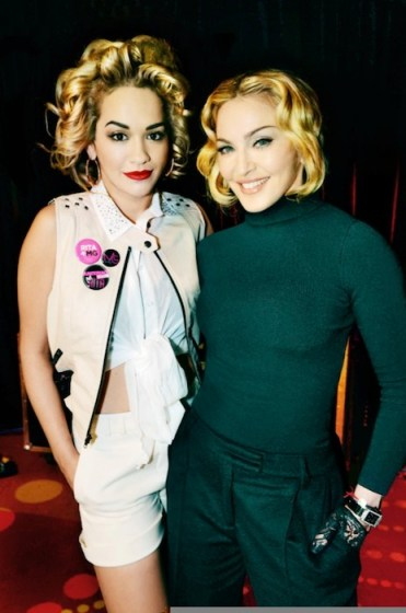 RITA ORA and MADONNA material girl | FashionDailyMag