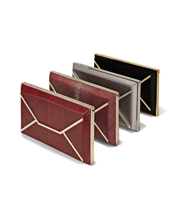 SMYTHSON evening clutch | FashionDailyMag