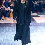 yohji yamamoto | fashiondailymag look 01