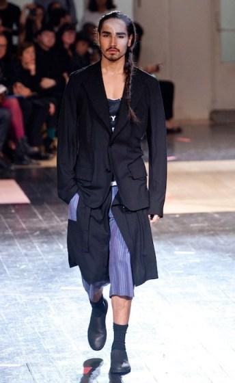 willy cartier | yohji yamamoto | fashiondailymag